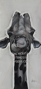 Natural Hicky painting airbrush tygerb a