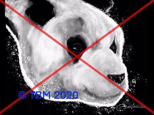 """""""Panda Bear Art"""" ©TBM2020 TygerB.com"""