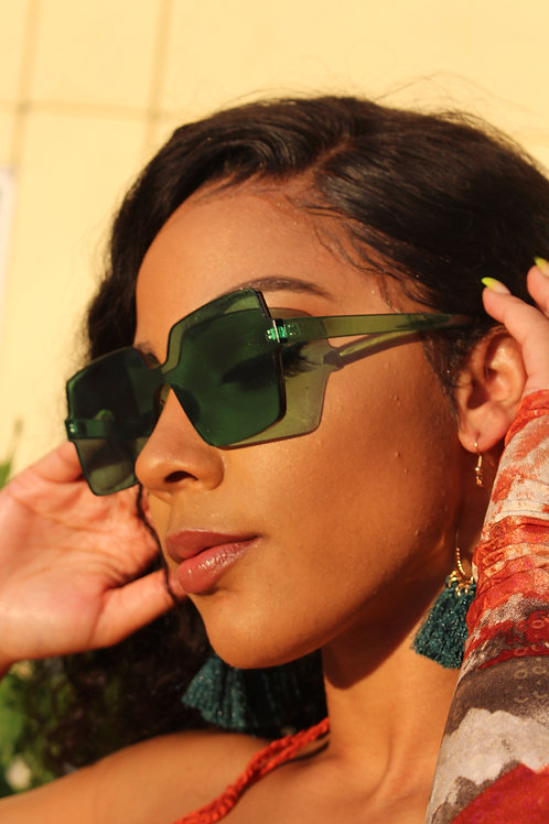 Money Green Sunnies