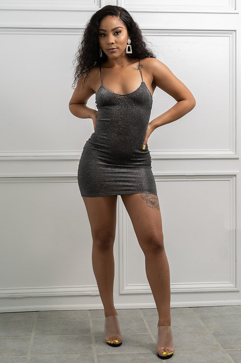 Lurex Cami Dress