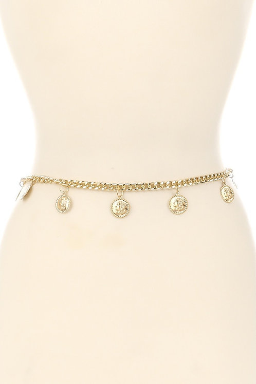 Gold Chain Belt
