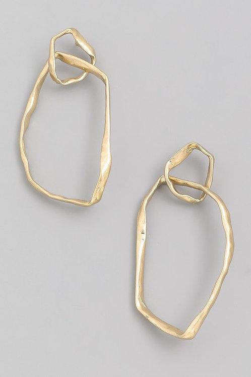 Gold Signature Earrings