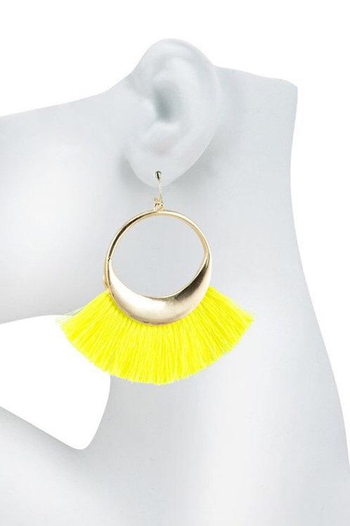 Yellow Neon Tassel