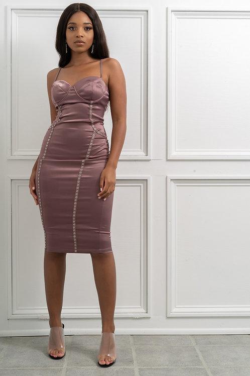 Satin Cami Dress