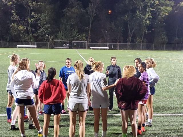 ASA Soccer Girls Team, Mindset, Huddle, Teamwork