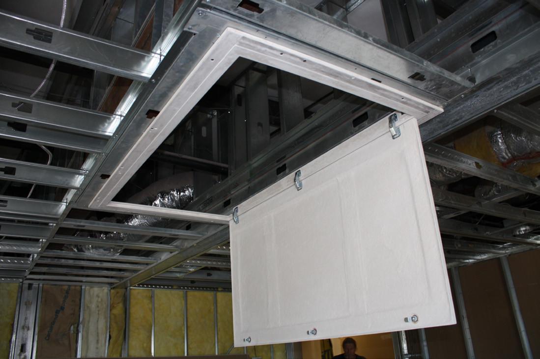 Ceiling Hinged Phantom Panel