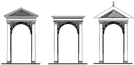 Pediments and Lintels