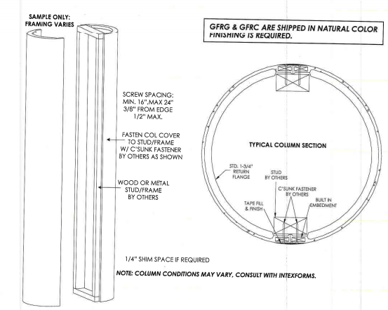 Column Cover Design