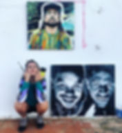 Me & some DnB breddas _#portraitart.jpg
