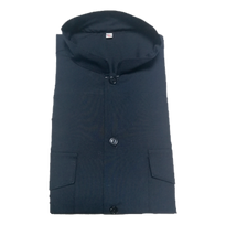 Camisa de uniforme azul oscuro