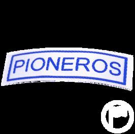 Insignia identificativa: Pioneros