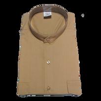Camisa de uniforme beige