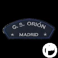 Insignia matrícula del G.S. Orión