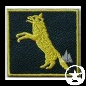 Insignia de Lobo Rampante