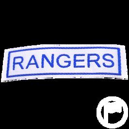 Insignia identificativa: Rangers