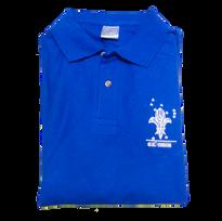 Polo de uniforme azul