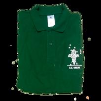 Polo de uniforme verde