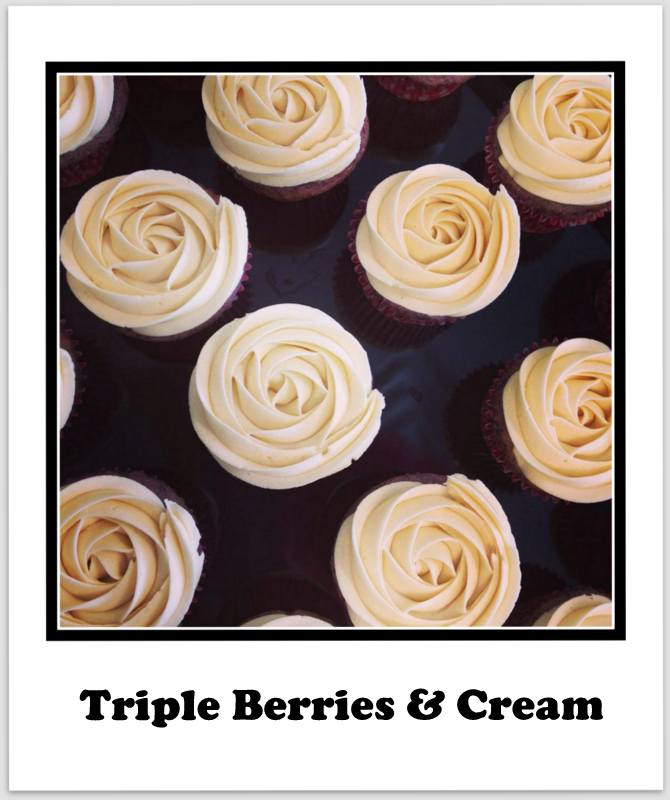 Triple Berries & Cream