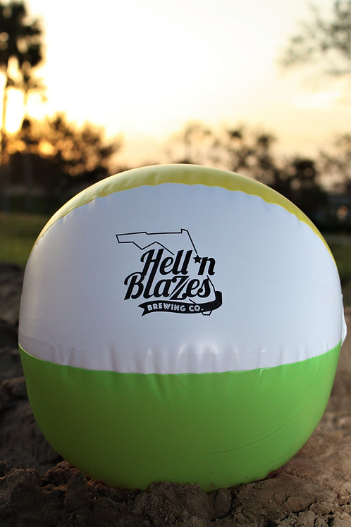 Hell 'n Blazes Beach Ball