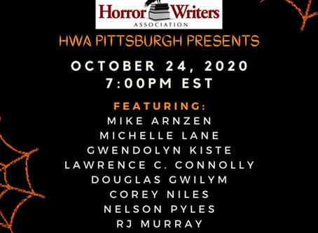 A NIGHT OF HAUNTED READINGS: HWA Pittsburgh