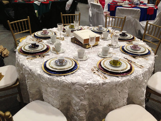 Dallas Wedding Linens to Complement the Top 3 Wedding Flowers