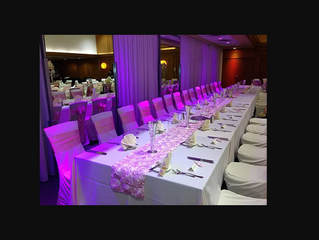 Trendy Dallas Wedding Table Runner Inspiration