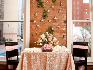 Sparkling Dallas Wedding Decorations to Complement Your Sequin Linens