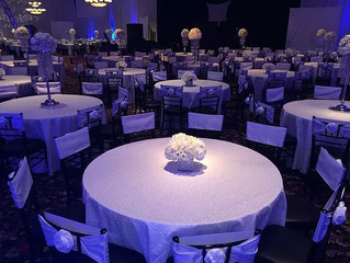 Top Linens Chosen for All-White Dallas Weddings
