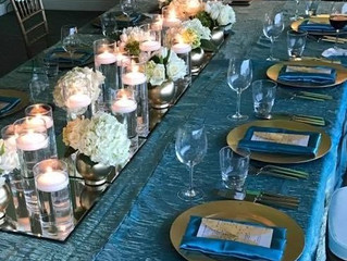 Reasons to Choose Crushed Iridescent Satin Linens for Your Dallas Wedding