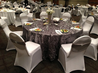 Don't buy your wedding chair covers, rent them!