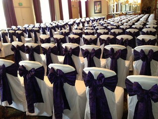 How will you be presenting your wedding chair sash? - Part 1