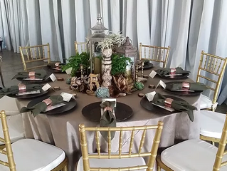 Add Some Pizzazz to Your Wedding Rental Linens