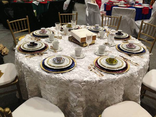 Linens That Will Add Romance to Your Wedding Tables