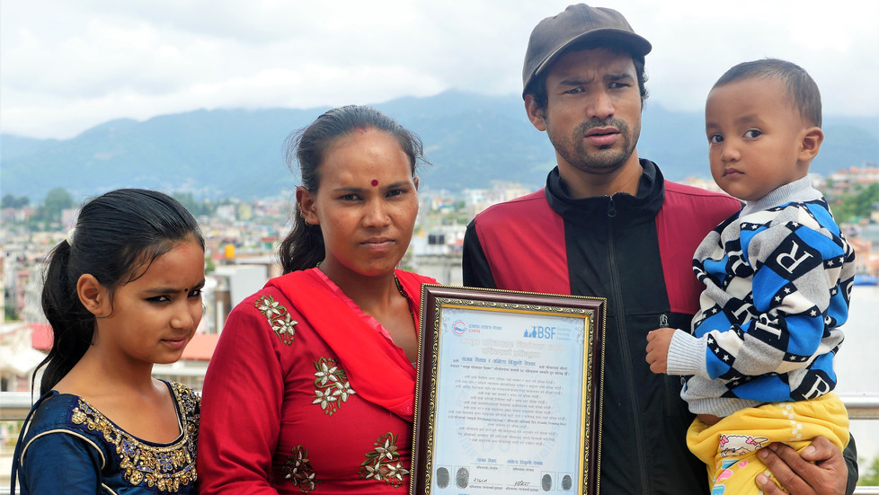 Welcoming 16 New Families in Nepal
