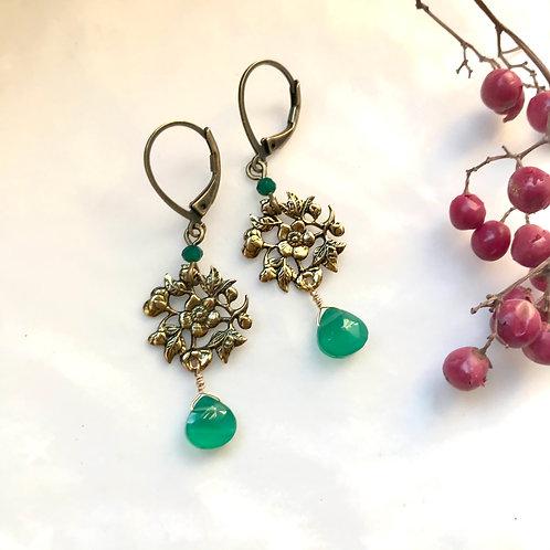 original earrings vintage style