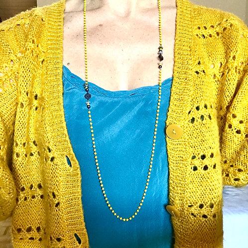 SAU strass jaune et pierres fines 1