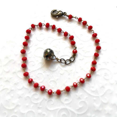 bracelet rouge geneve