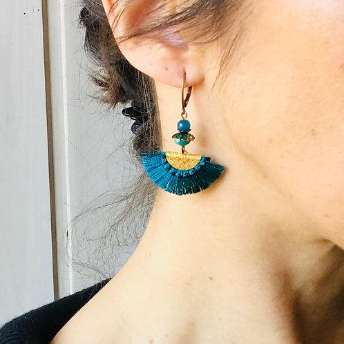 earrings blue geneva