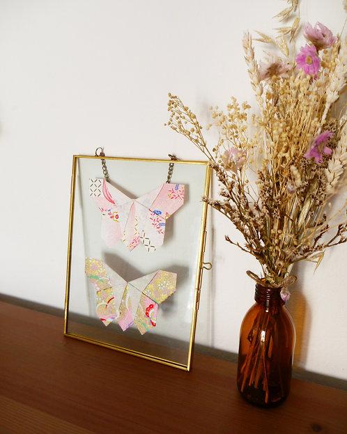Papillons japonais roses