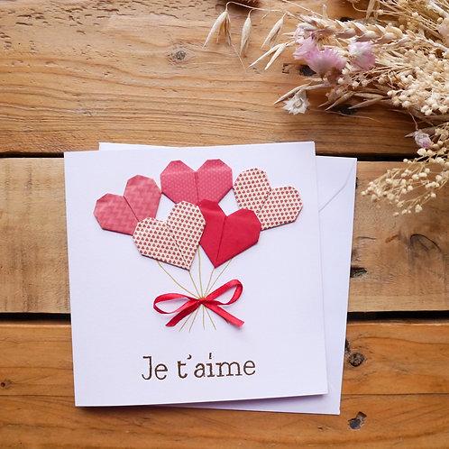 Bouquet de cœurs