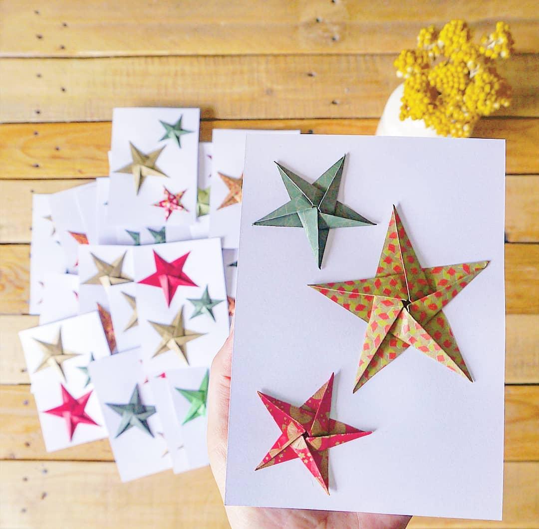 Carte de vœux pour une agence immobilière