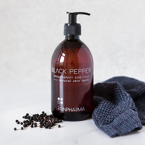 Aromatherapy Skin Wash Black Pepper ~ 500ml