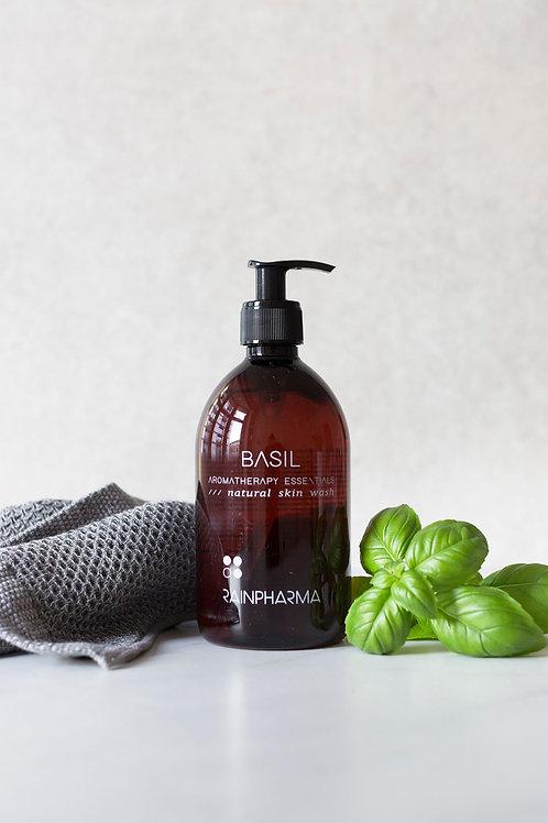 Aromatherapy Skin Wash Basil 500ml
