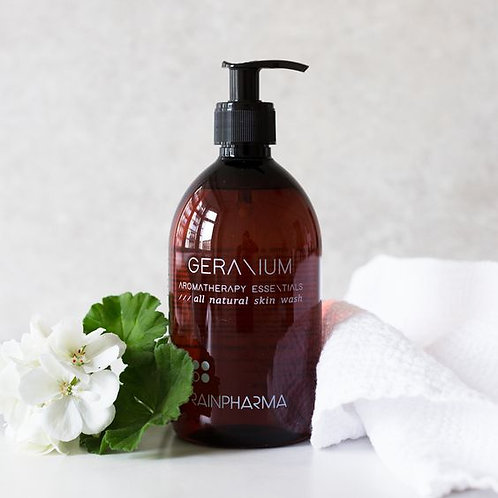 Aromatherapy Skin Wash Geranium 500ml