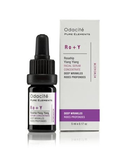 Odacité - DIEPE RIMPELS serum concentraat Ro+Y (Rozebottel + Ylang Ylang)  5 ml