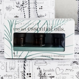 Trio Essential Oils - Clearing & Breathing