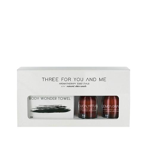 RainPharma Three For You And Me - Body Wonder Towel - Eucalyptus + Lemongrass 10