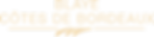 logo Blaye Cotes de Bordeaux