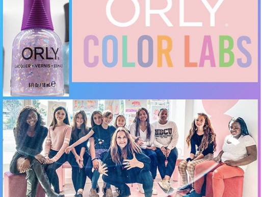 Exclusive Anti-Bullying KickGlass Pop-Up Event - Orly Color Lab