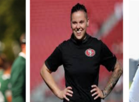Katie Sowers, Jennifer King and Callie Brownson Added to WNFC Advisory Board